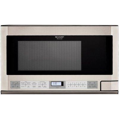 Shop Sharp Carousel 1.5-cu ft Built-In Microwave with Sensor Cooking Controls (Stainless Steel ...