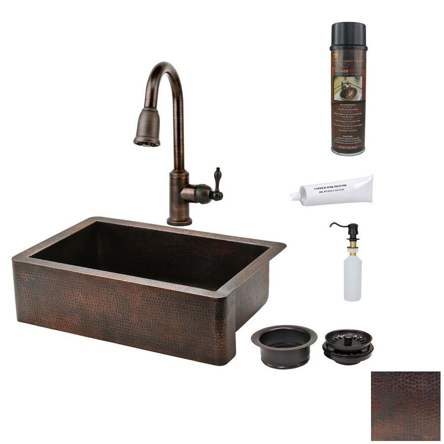 17 best ideas about farmhouse kitchen faucets on pinterest farmhouse kitchen faucet Shop Premier Copper Products 22 In X 33 In Oil Rubbed Bronze Farmhouse Kitchen Faucet