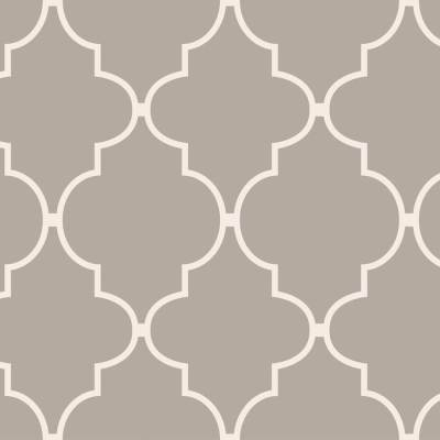 Shop allen + roth Taupe Vinyl Geometric Wallpaper at Lowes.com