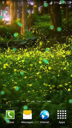 Fireflies by Phoenix Live Wallpapers live wallpaper for Android. Fireflies by Phoenix Live ...