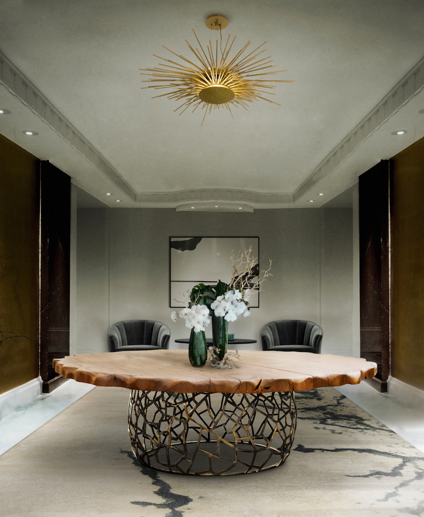 15 Supreme Oval Dining Table for Your Modern Dining Room 1