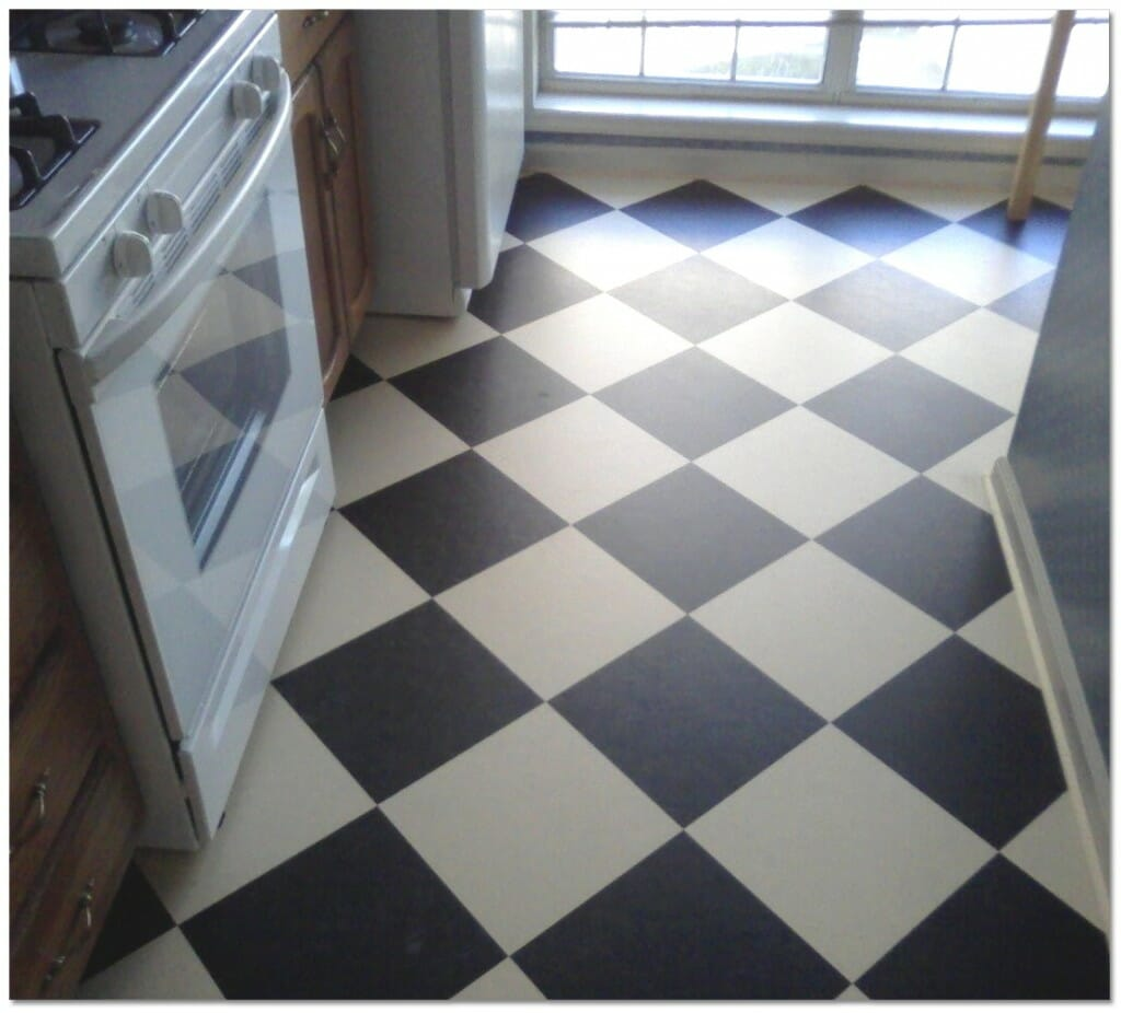 linoleum vs vinyl kitchen floor lino