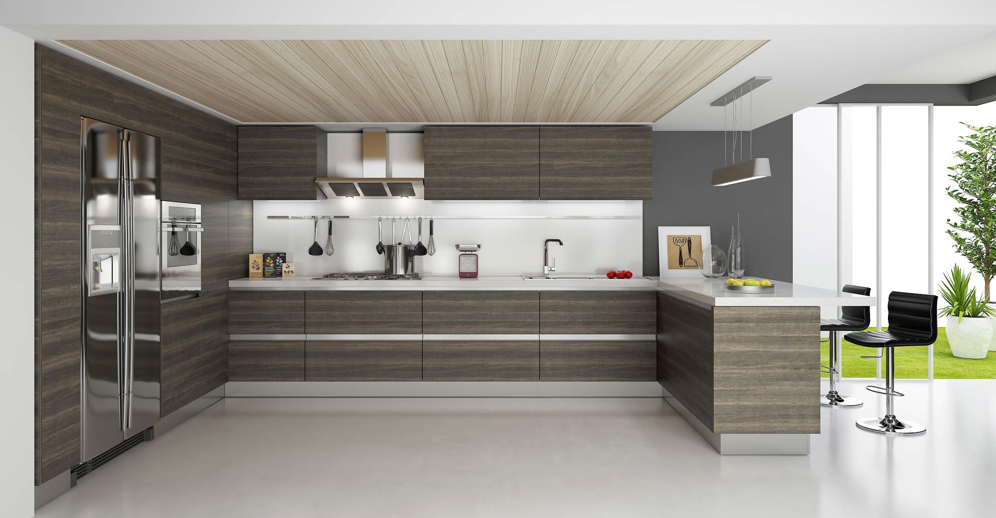contemporary and modern kitchens what is the difference modern cabinets kitchen Contemporary and modern kitchens what is the difference