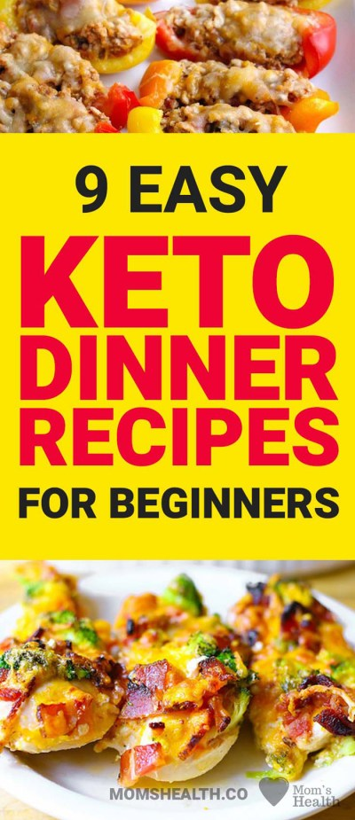 Keto Dinner Recipes – 9 Easy Keto Dinners for Beginners