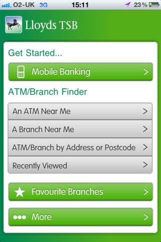 Lloyds TSB iPhone App - Money Watch