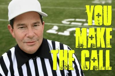 You make the call | Moody Eye View