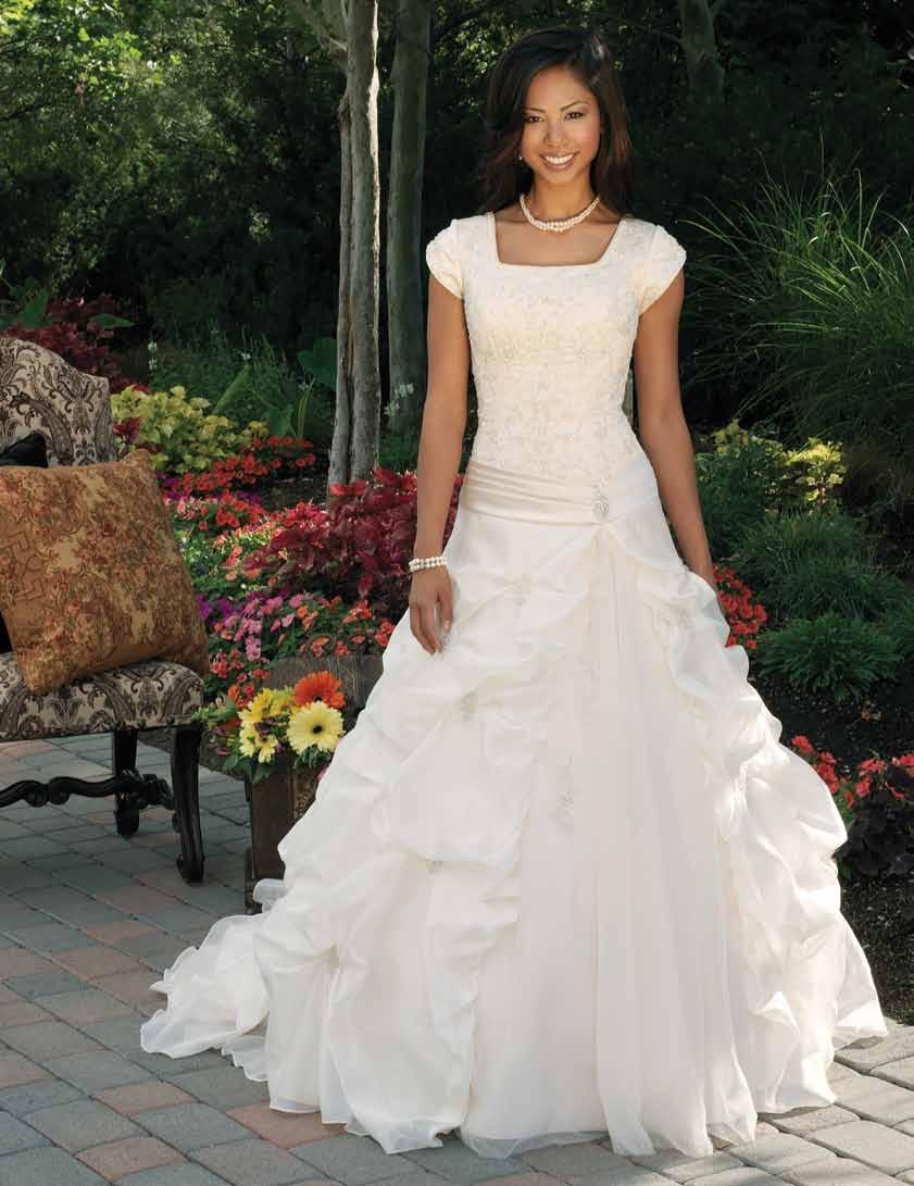 mormon weddings lds wedding dresses Wedding Dress