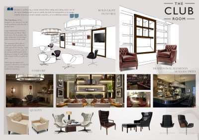 concept in theory . the club room | Motif by jess marshall