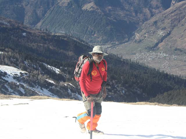 Bhrigu Lake and Trekking in Manali, Snow Camp