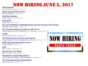 Mountain View Mirror : Immediate Jobs Available at Dulles Airport