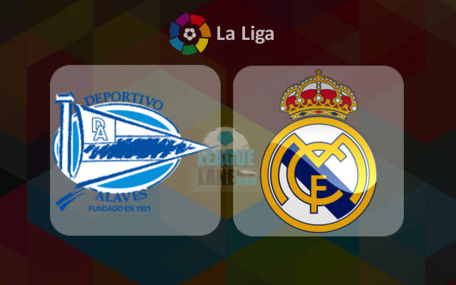 Prediksi Alaves vs Real Madrid 29 Oktober 2016