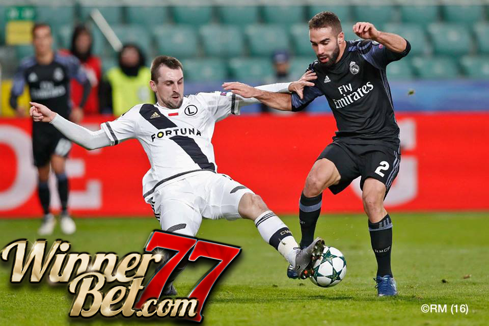 Hasil Pertandingan Legia Warsawa vs Real Madrid: Skor 3-3