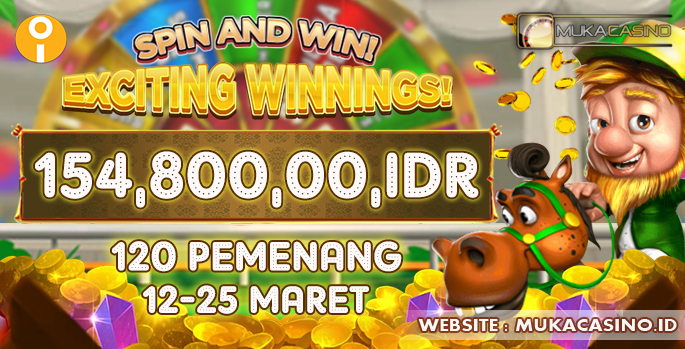 Event Exiciting Winnigs Situs Judi Slot Online MukaCasino