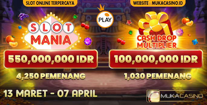 Event Slot Mania Dan Cash Drop Multiplier Pragmatic