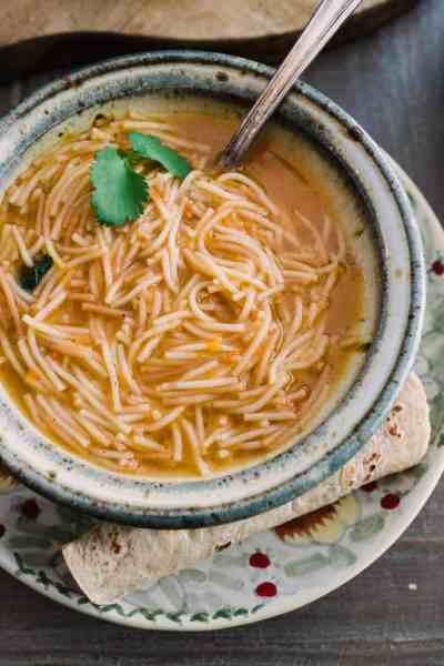 Sopa de Fideo + Video - Muy Bueno Cookbook
