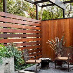 Wooden or Metal Privacy Screens Whats Your Choice