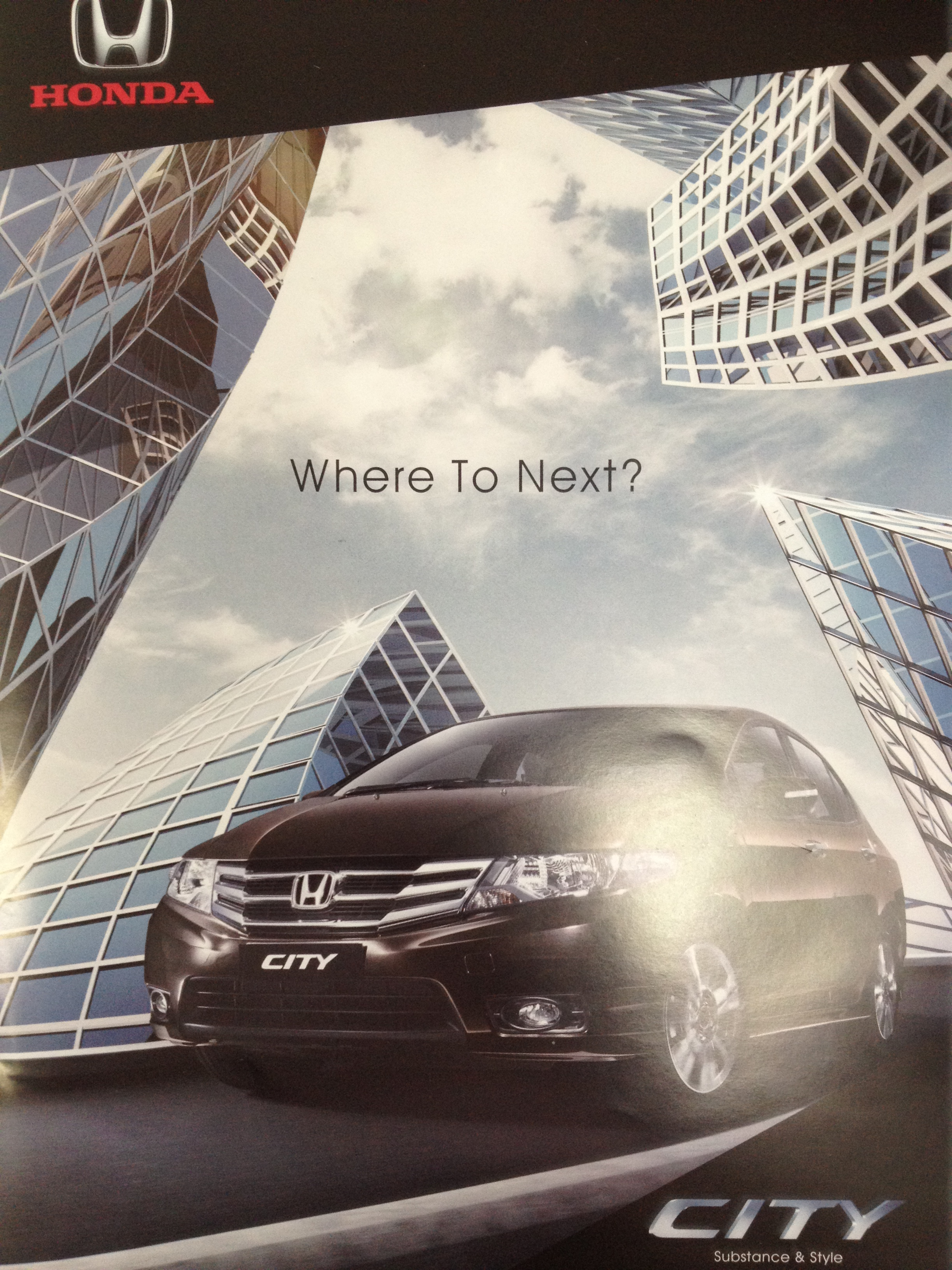 New Honda City 2012     Brochures   My Best Car Dealer The