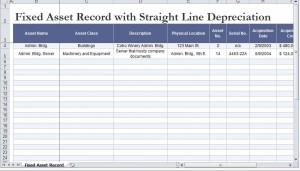 Straight Line Depreciation Calculator
