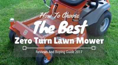Best Zero Turn Lawn Mower Reviews 2019 And Buyer's Guide ...
