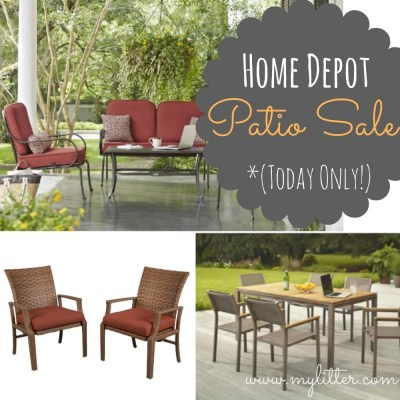 Home Depot Patio Furniture Sale | 50% OFF Sets Today Only ...