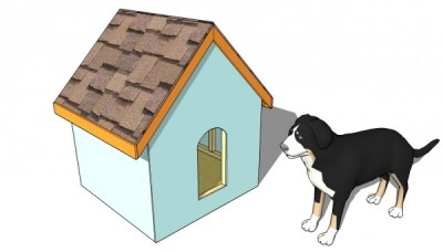 Simple Dog House Plans | MyOutdoorPlans | Free Woodworking Plans and Projects, DIY Shed, Wooden ...