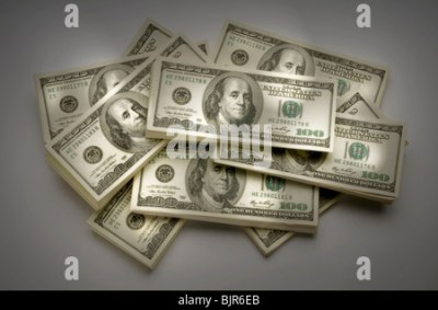 1 Dollar Bank notes Dollars from United States of America with Stock Photo: 19135946 - Alamy