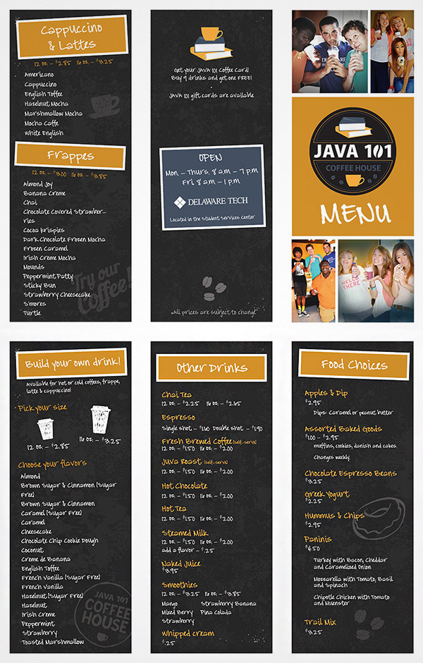 15 Refreshing Coffee Shop Brochure Designs   Naldz Graphics sketch menu brochure