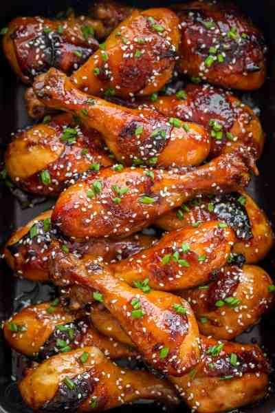 Baked Honey Glazed Chicken Recipe - NatashasKitchen.com