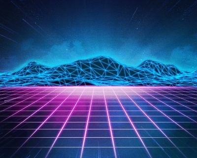 Rad Pack 80's-Themed HD Wallpapers - Nate Wren - Graphic Design
