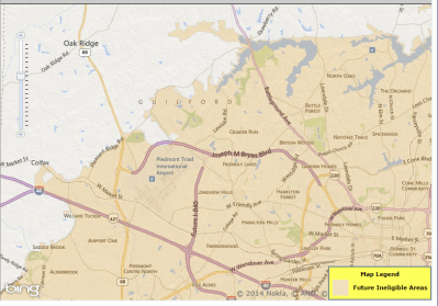 USDA Loans in Greensboro NC - USDA Eligibility Map Changes in NC