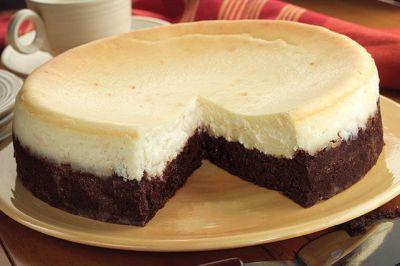 Brownie Bottom Cheesecake - Nest Full of New