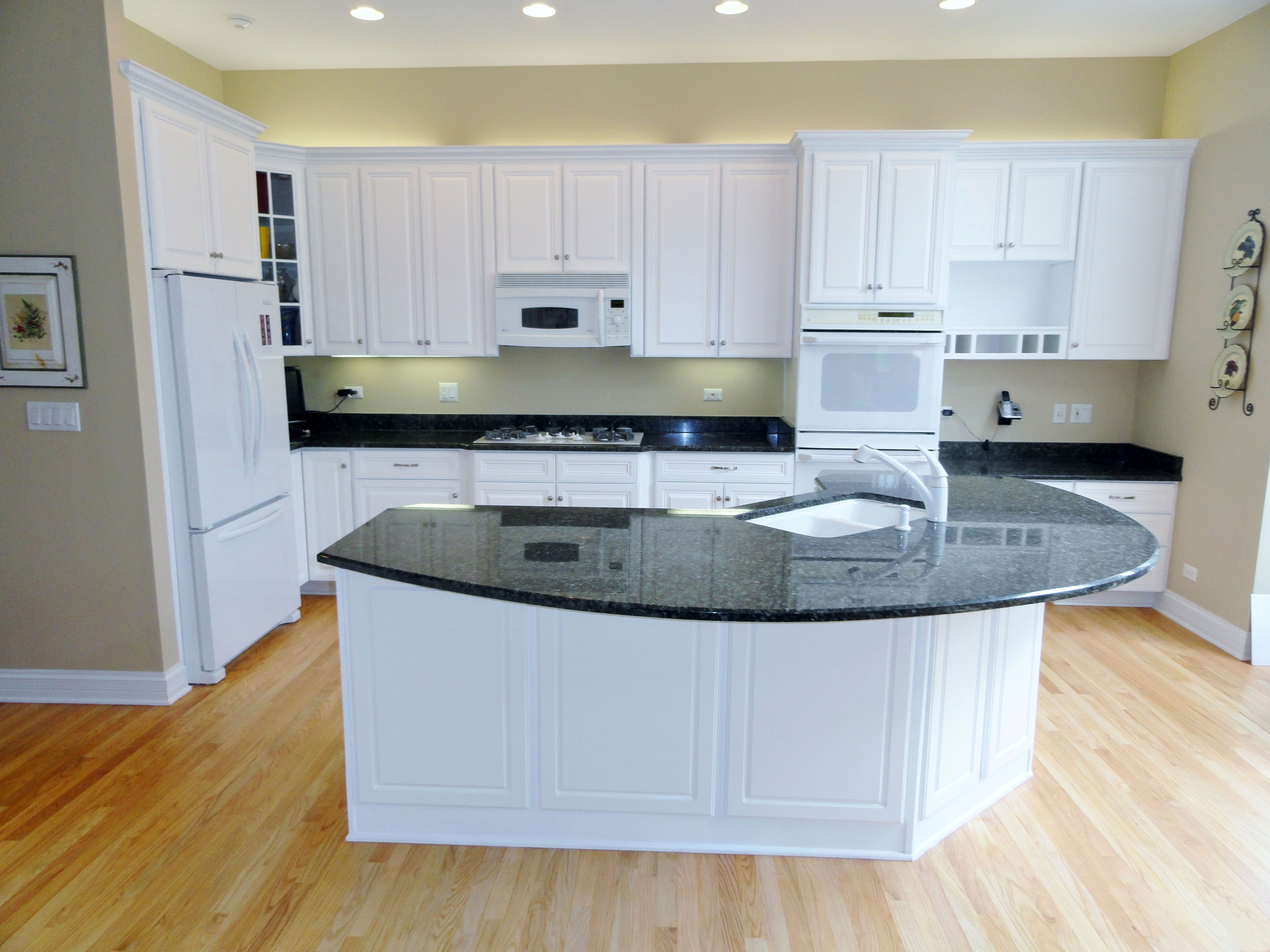photos kitchen cabinet refacing 30 Cabinet refacing with white painted maple triple upgrade design