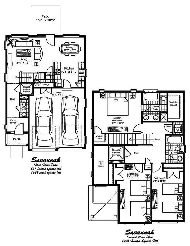 SavannahFloorPlansOnly