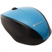 The Verbatim 97993 Wireless Multi-Trac Blue LED Optical Mouse