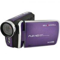 The Bell+Howell 20.0-Megapixel 1080p DV30HD Fun Flix® Slim Camcorder