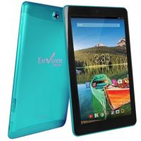 "The Envizen EVT10Q Quad-Core 1.2GHz 32GB 10.1"" IPS Touchscreen 3G Tablet Android 4.4 w/Cams"