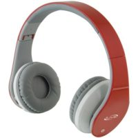 The ILIVE BLUE IAHB64R Bluetooth® Headphones with Microphone