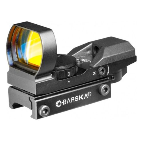 The Barska AC11705 Multi-Reticle Red & Green Electro Sight