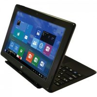 "The Proscan PLT1090-K 10.1"" Windows® 10 32GB Tablet with 2-in-1 Hard Case & Keyboard"