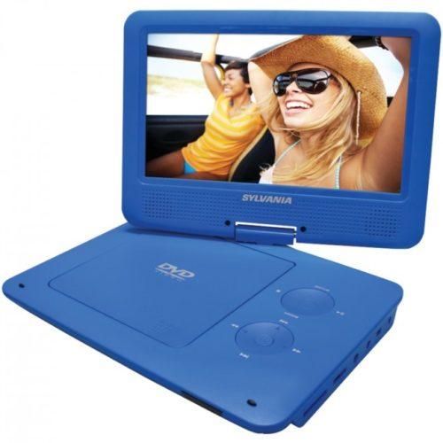 "The Sylvania® SDVD9020B 9"" Portable DVD Player with 5-Hour Battery"