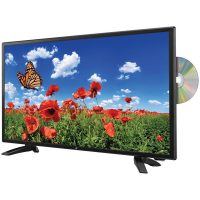 "The Nexa NTD-2457A 23.6"" LED TV & DVD/Media Player Combination with Car Package"