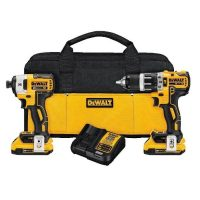 The DEWALT DCK283D2 20-Volt MAX XR™ Li-Ion Brushless Drill/Driver Kit