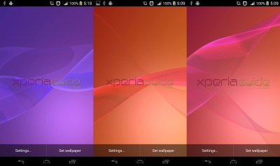 Sony Xperia Z2 Media Apps and Live Wallpapers Now Available Online