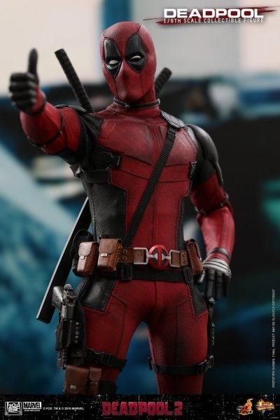 Deadpool 2 - 1/6 Scale Deadpool Figure by Hot Toys - The Toyark - News