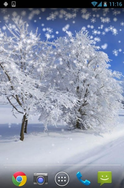 Top 7 Beautiful Winter Snow Live Wallpapers for Android