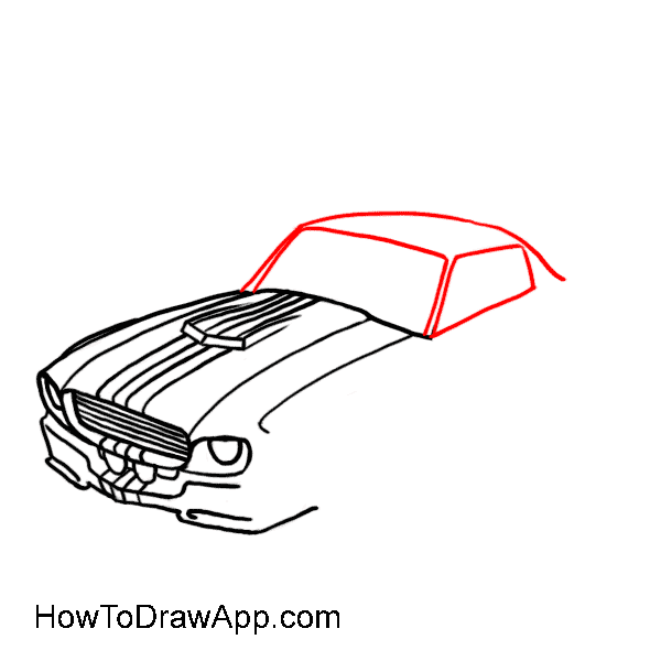 How to draw a car 07