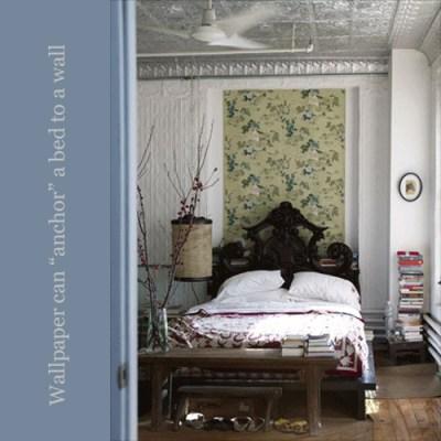 Wallpaper in Frames | Nomadic Decorator