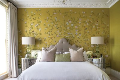 50+ Floral Wallpaper and Mural Ideas - Your No.1 source of Architecture and Interior design news!