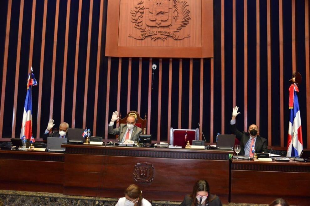 RP Bloque PLD, en el Senado, Feria