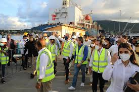Abinader anuncia Puerto San Felipe de Puerto Plata estará apto para recibir turistas en abril del año próximo
